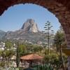 The Big Rock in Bernal, Querétaro State, Mexico