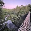 The Sunset Bridge of Historic Banning Mills