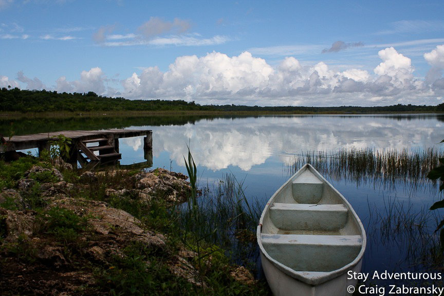punta laguna coba riviera maya mexico