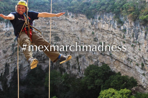 mexican march madness rappel down the sinkhole of parrots