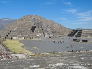 Mexico's Famous Pyramids.