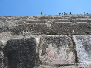 a steep climb...