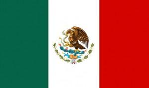 the flag or bandera de Mexico