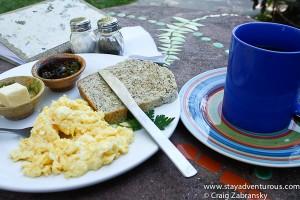 breakfast is served...