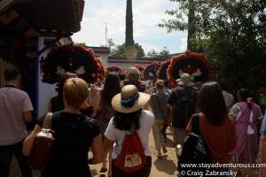 the parade...