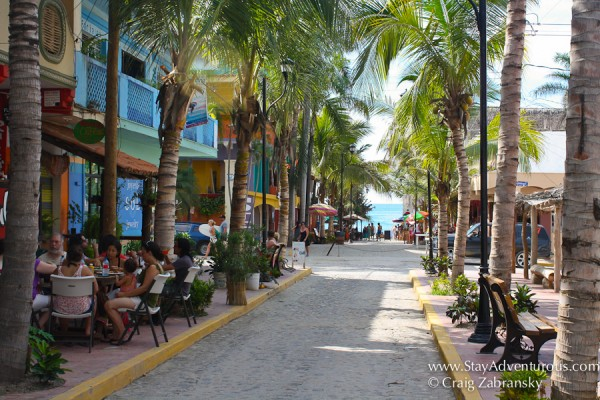the streets of Sayulita, Riviera Nayarit, Mexico