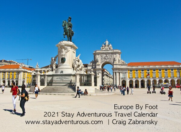 Europe by Foot, the 2021 Stay Adventurous Travel Calendar