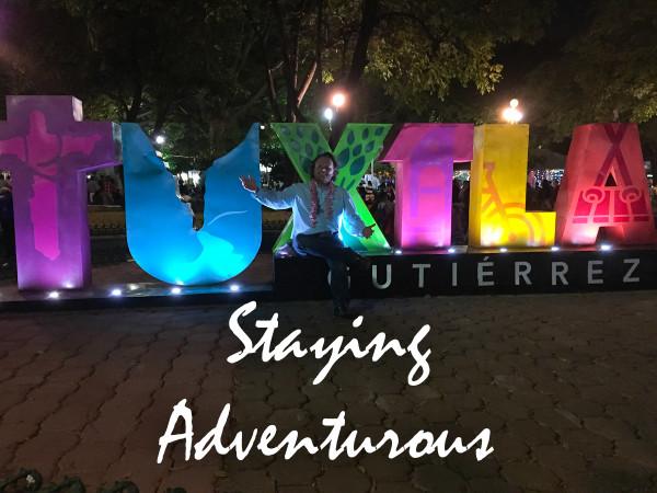 the Tuxtla Gutierrez Chiapas letters and sign located in Tuxtla at parque de la Marimba, Chiapas, Mexico