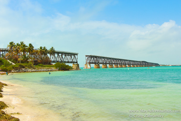 bahia honda iconic railway bridge florida keys