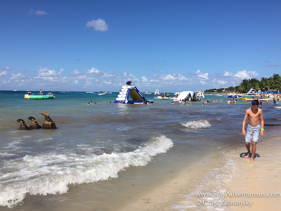 The Three Mayan Heads Found At Paradise Beach Cozumel