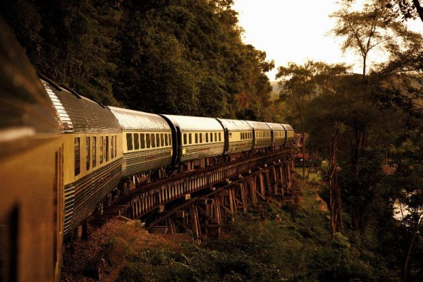 On the Eastern & Oriental Express, photo via Belmond.com