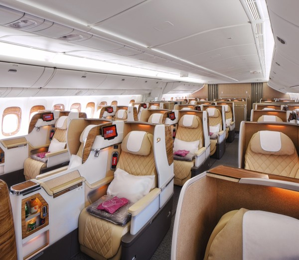 new business calss for emirates