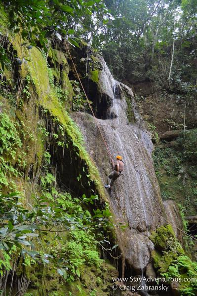 Tzimbac Adventure Park Rappel with EcoExperiencas Chiapas outside Tuxtla Gutierrez