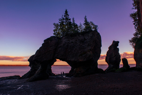 Hopewell Rocks-New Brunswick, Maritimes, Canada
