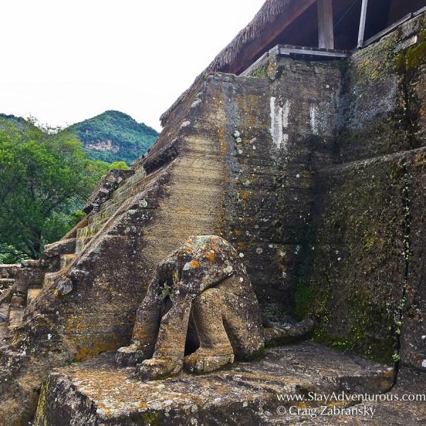 the ruins of Malinalco, in malinnalco, mexico