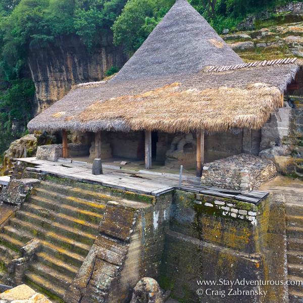 the Malinalco ruins in malinalco, mexico