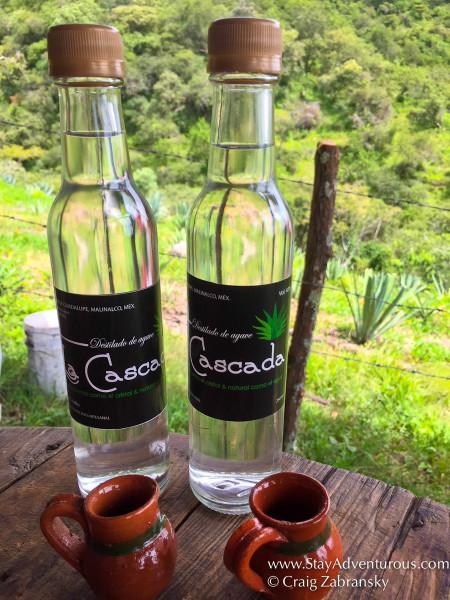 Mezcal-La-Cascada-Mezcal from Malinalco, Mexico , photo by craig Zabransky