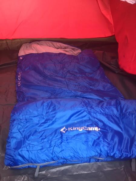 the KingCamp 3 Sleeping Bag