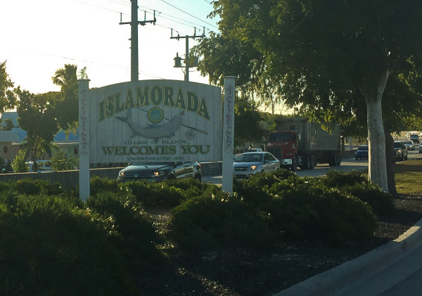 Welcome to islamorada, Florida Keys