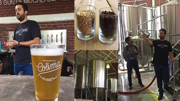 the Colima brewery for its craft beer