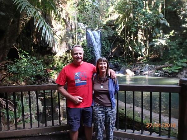 Curtis Falls Tamborine National Park Queensland