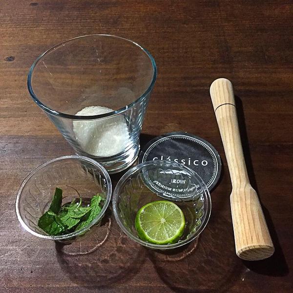 Mexican Rum mojito at Ron Classico in Colima Mexico