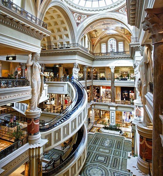 Las Vegas, the forum at Caesars Palace