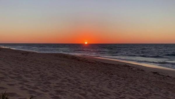 Bunbury sunset, Koombana Bay, Hollow Beach, Western Australia