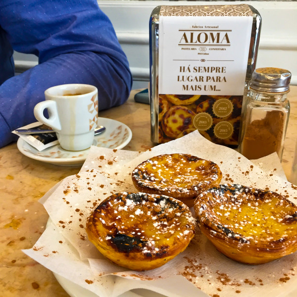 pastels de nata in lisbon portugal, a must eat when travleing to portugal