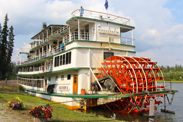 Discovery III, the Riverboat Tour in Fairbanks, Alaska