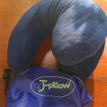 J-pillow and carrying case