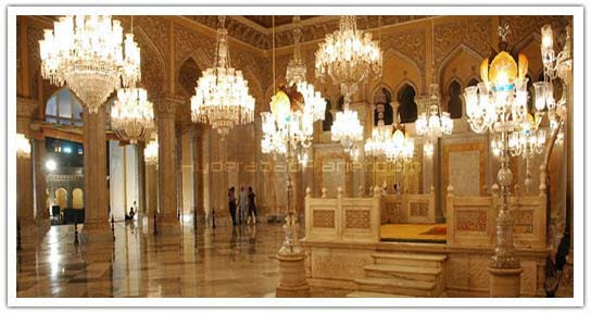 Inside Chowmahalla Palace Hyderabad