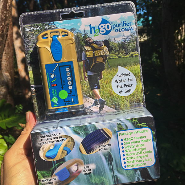 the h2gO Purifier