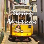 Staying Adventurous Lisbon Tram Image