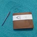 Allett Micropen and Thin Sport Wallet Leather