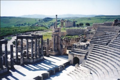 Roman Ruins Theater View (photo by G Wilson)