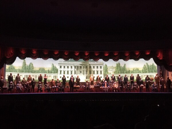 hall of presidents at Disney