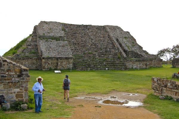 Monte Alban, Oaxaca, Mexico, Enter the Plateau