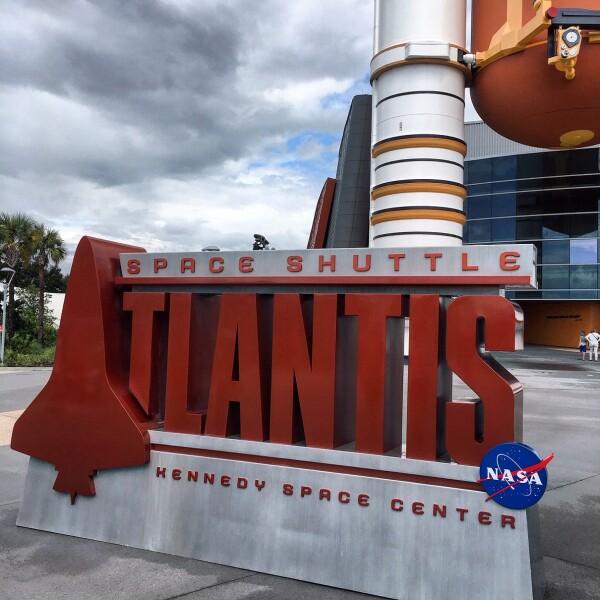 Atlantis Exhibit Kennedy Space Center