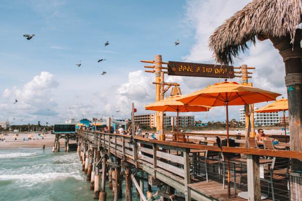 Cocoa Beach Pier, Space Coast Florida