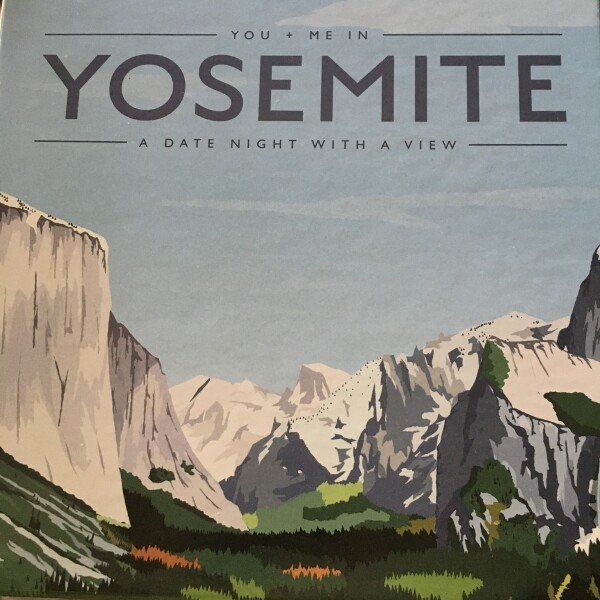 You and Me in Yosemite, Crated with Love Date Night in a Box
