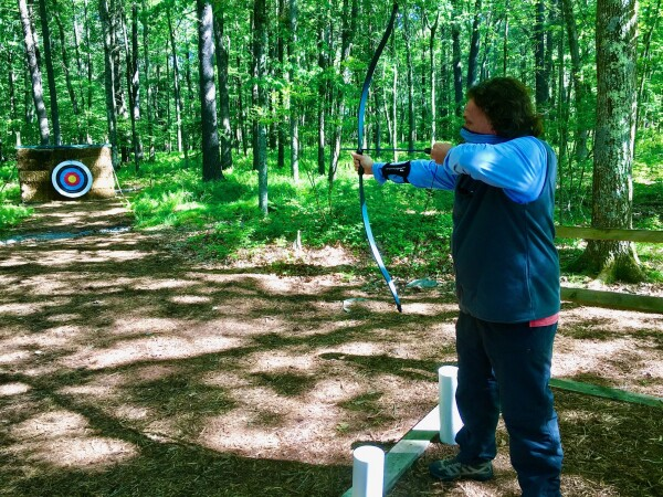 archery from Destination Spa The lodge at Woodloch