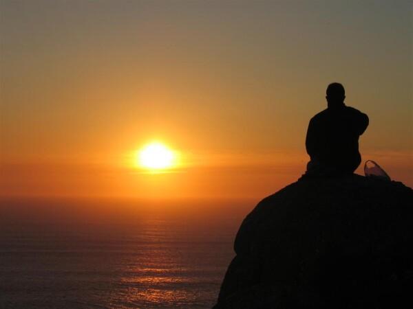 sunset finisterre el camino de santiago