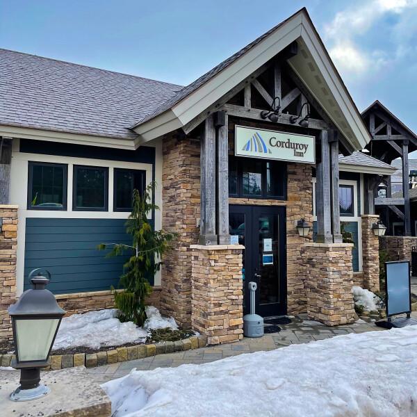 the Corduroy Inn in Snowshoe Mountain Resort, West Virginia
