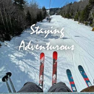 ski lift powder monkey at snowshoe mountain resort, west virginia