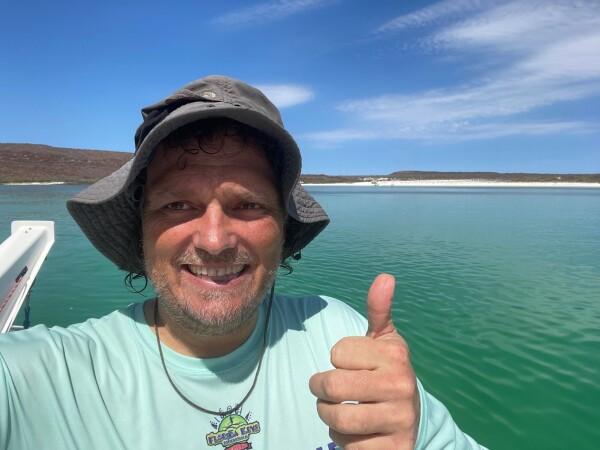 ABT sailing through the islands of Loreto in Loreto Bay National Park, Baja California Sur