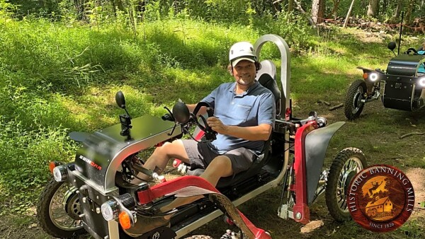 Eco Spider ATV adventure at Historic Banning Mills in Georgia