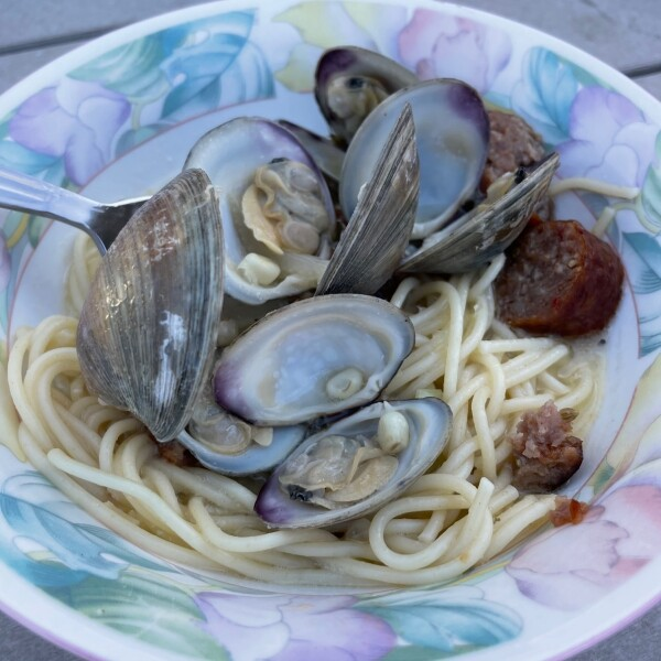 Clams from the local seafood market in Ocean City Maryland
