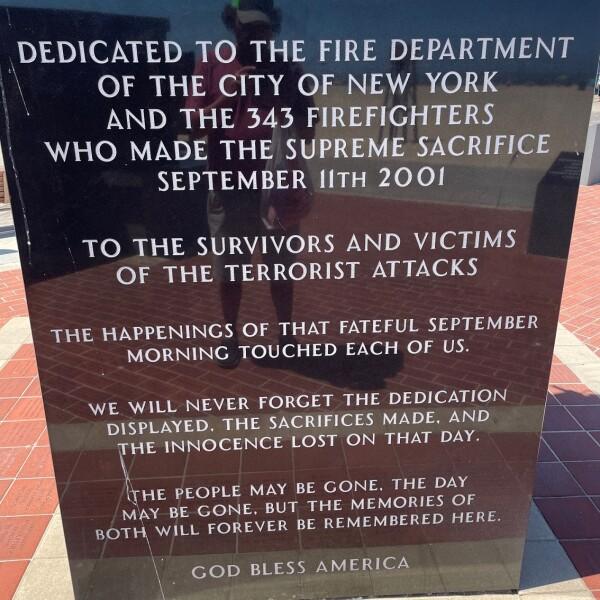 Ocean City Maryland Boardwalk firefight September 11th Memorial