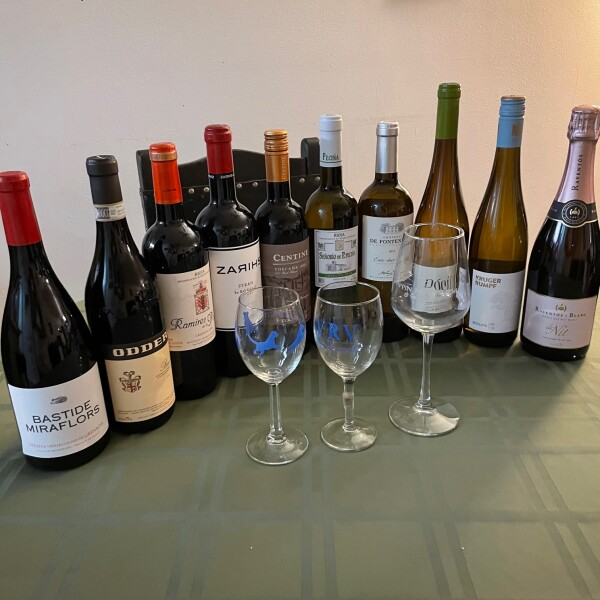selection of European Wines